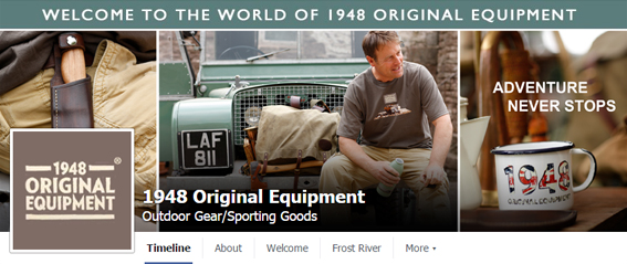 1948 Original Equipment Facebook Timeline