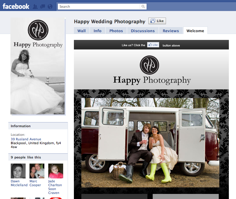 Happy Wedding Photography Screenshot