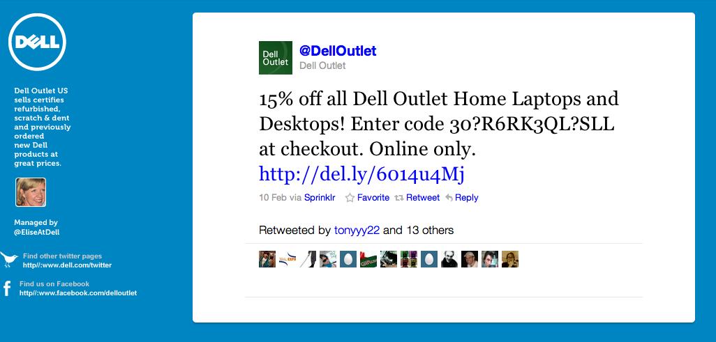 Dell Twitter