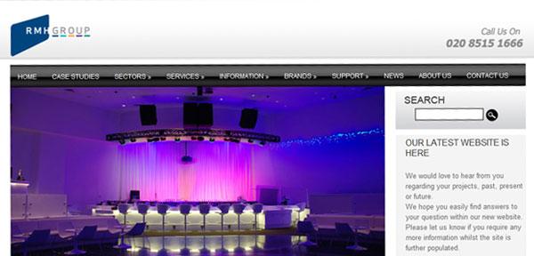 rhm group web design