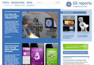 General Electric Screenshot