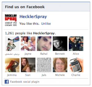Hecklerspray Screenshot