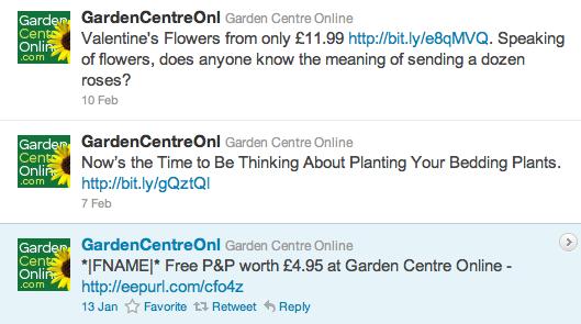Garden Centre Online tweets