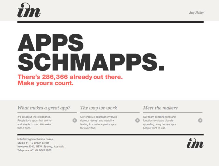 Apps Schmapps Screenshot