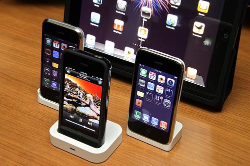 iphones and ipad