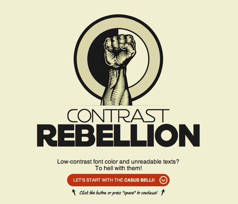 contrast-rebellion
