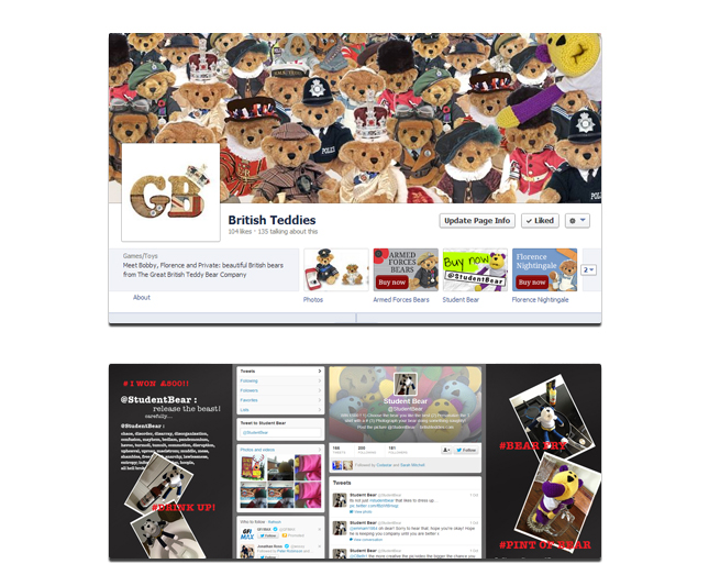 Great British Bear Company Social Media Package