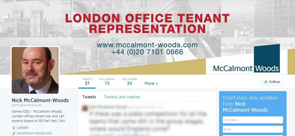 McCalmont-Woods Twitter Complete Social Media design package