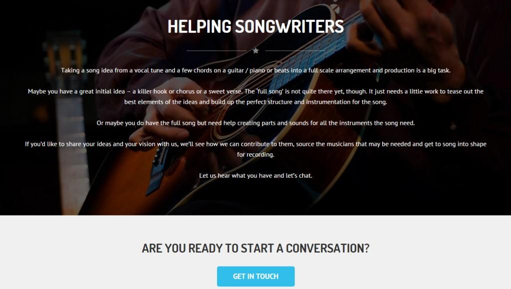Web Design One Page Site Codastar