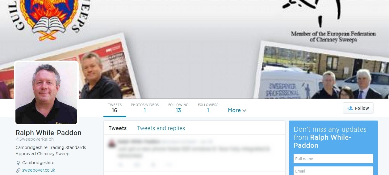 Codastar Twitter Design