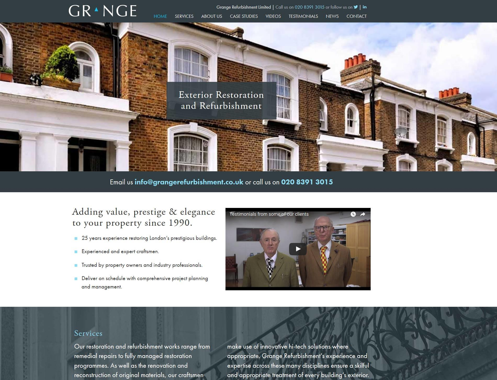 grange refurbishment